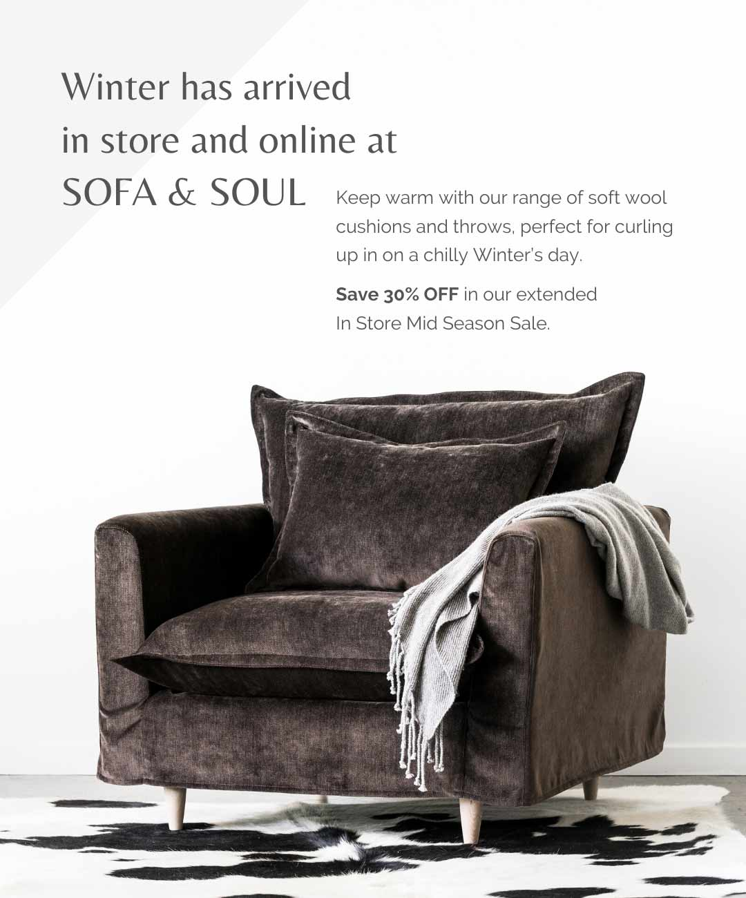 Winter collection soft wool throws