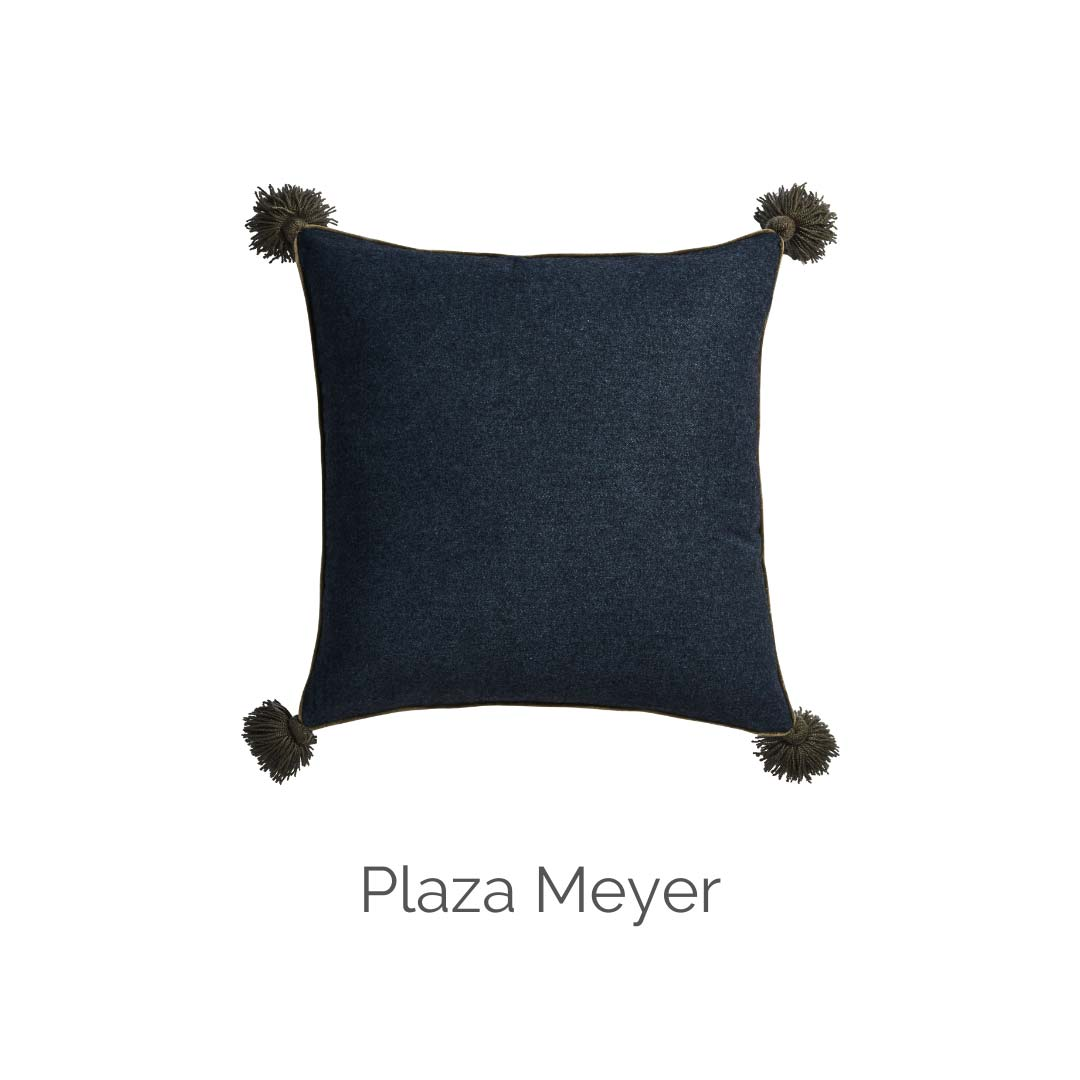 Plaza Meyer cushion Canvas & Sasson