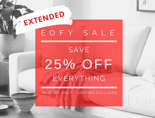 EOFY Sale EXTENDED!