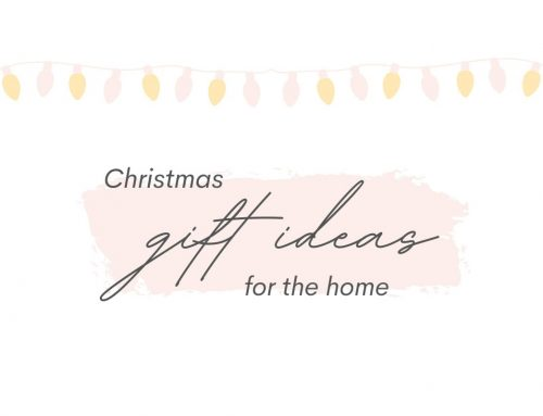 Christmas Gift Ideas for the Home
